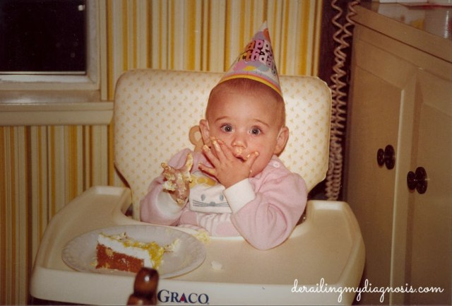Stephanie's First Birthday (January 1987)